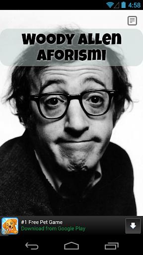 Woody Allen Aforismi