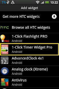 Timer Widget Pro - screenshot thumbnail