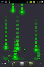 Pixel Rain Live Wallpaper Screenshot 3