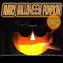 Angry Halloween Pumpkin FULL logo