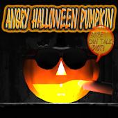 Angry Halloween Pumpkin FULL
