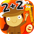 Animal Math Games for Kids Learning Math Games icon