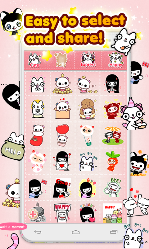 My Chat Sticker 2 W - screenshot
