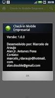 Screenshot of Check-in Mobile Empresarial