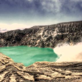 ijen crater by Nur Saputra - Landscapes Mountains & Hills