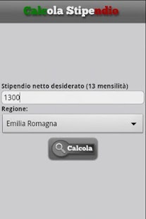 Italian Salary Calculator- screenshot thumbnail