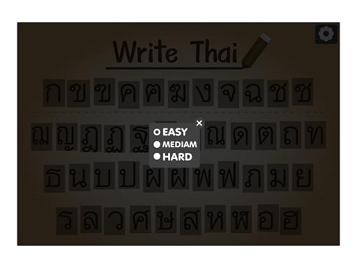 write thai letter
