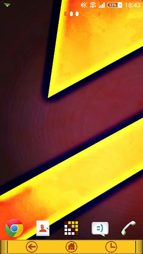 eXperianZ Theme - Yellow