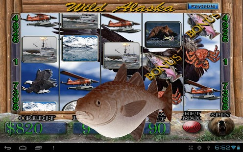 Wild Alaska Vegas Slot Machine - screenshot thumbnail