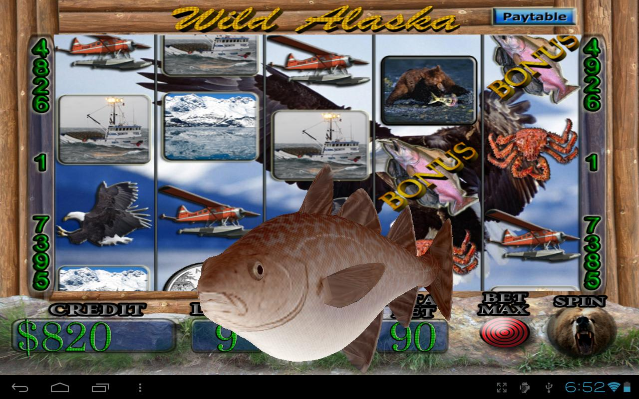Wild Alaska Vegas Slot Machine - screenshot