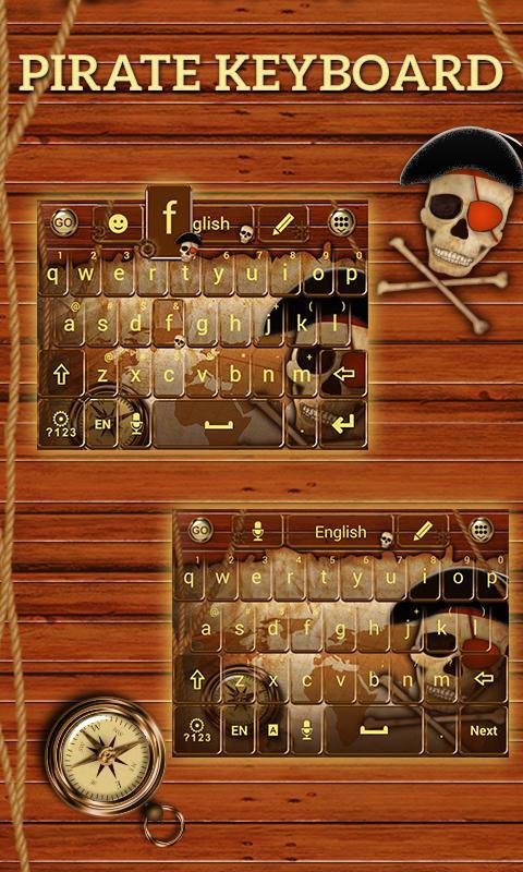 Pirate-GO-Keyboard-Theme 7