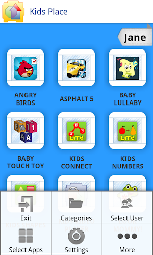 17 Kids Place - Parental Control App screenshot