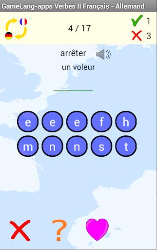 Verbes A2 Français Allemand