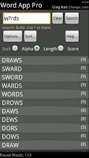 Word App- screenshot thumbnail