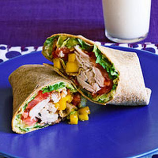 Californiz Chicken Club Wraps.