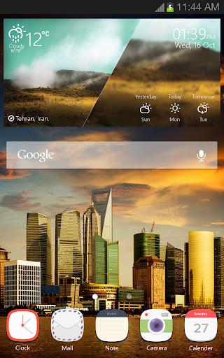Landscape Weather Widget