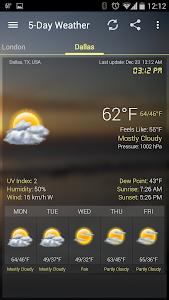 Weather & Clock Widget Android v3.8.2