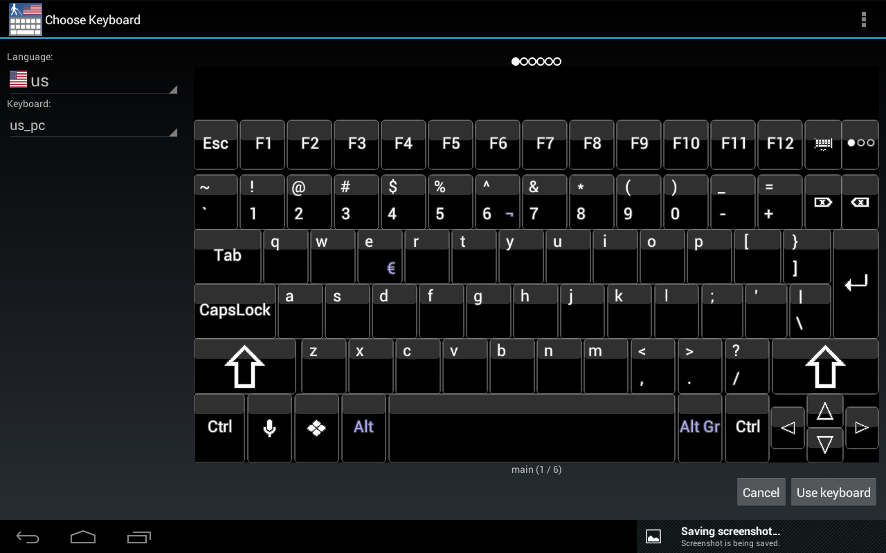 Blind Accessibility Keyboard- screenshot