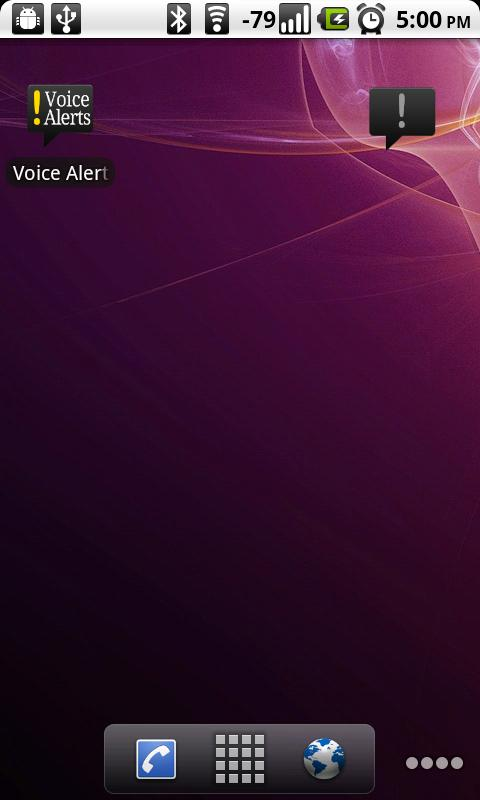 Voice Alerts - screenshot