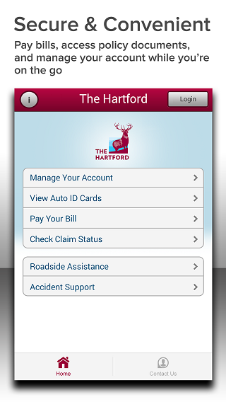 The Hartford Mobile - screenshot