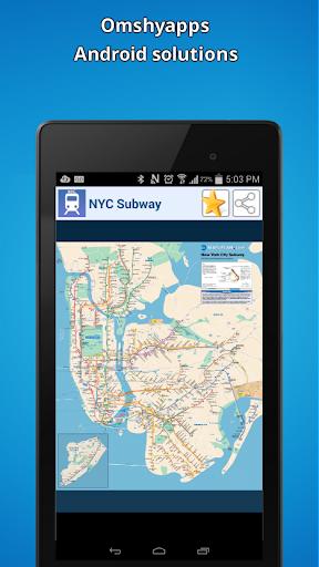 新紐約城市地鐵地圖(NYC)