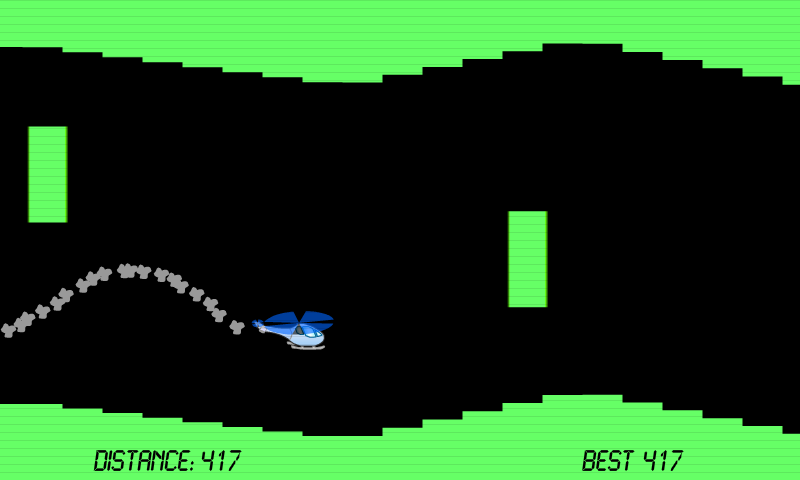 Classic Helicopter Game- screenshot