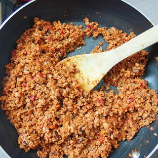 Vegan Homemade Soyrizo (Soy Chorizo) - Copycat