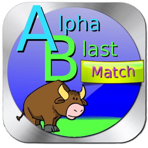 Alpha Blast Match Kid Phonics 教育 App LOGO-APP開箱王