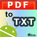 Convert PDF to Text icon