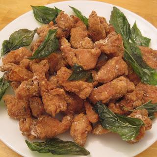 Salt Pepper Chicken (Taiwanese Popcorn Chicken).