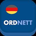 Ordnett - Tysk blå ordbok