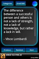 Screenshot of 505 Motivational Quotes