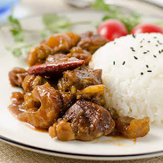 Mom's Best Beef Stew with Tendon.