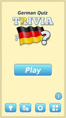 German Trivia Quiz - screenshot