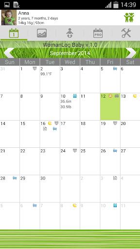 WomanLog 寶寶日曆