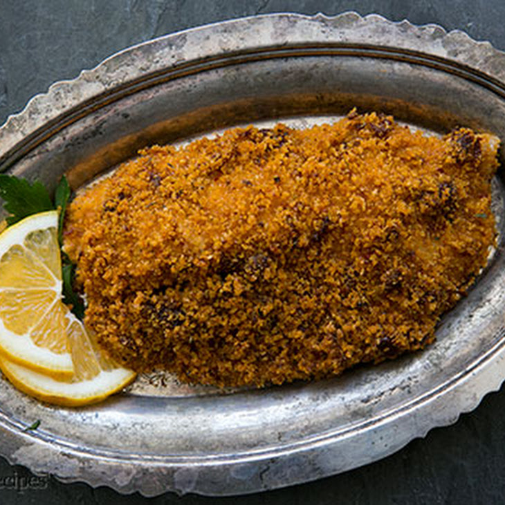 Baked Tilapia with Sun-Dried Tomato Parmesan Crust Recipe