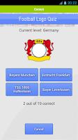 Screenshot of Football Logo Quiz