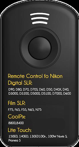 IR Nikon SmartWatch 2 Trigger