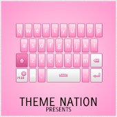 GO Keyboard Theme Pro Pink
