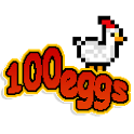 100 eggs icon