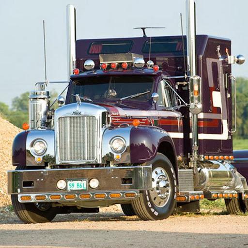 重型卡車拼圖