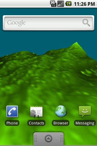 Terrain Live Wallpaper Free- screenshot