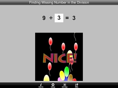 Finding Number in the Division- screenshot thumbnail