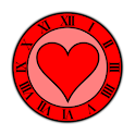 Love Heart Clock Widget icon