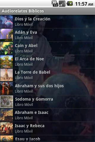 Audiorelatos Bíblicos 1 - screenshot