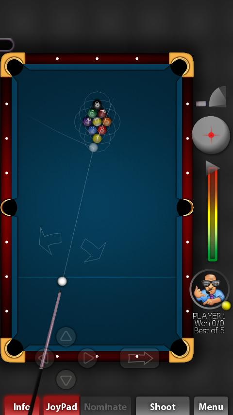 Pool Rebel- screenshot