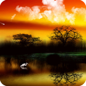 3D Sunrise Live Wallpaper icon
