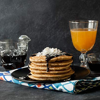 Gluten Free Coconut Pancakes.