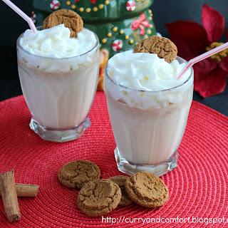 Gingerbread Milkshake (Throwback Thursday).