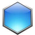 Hexagon - shoot bubbles icon